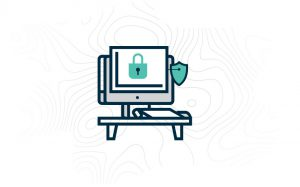 Secure internet with topography pattern